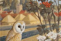 Charles Frederick Tunnicliffe - Artist & Illustrator. / 1901 - 1979.   British wildlife artist and illustrator of many children's Ladybird series books.