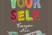 speaking words of wisdom, let it be. / by Nicole Vande Zande