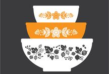 Vintage Pyrex / by Laura E