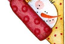 Étiquettes Noël