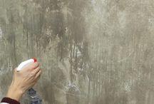 Decoratieve verftechnieken muur