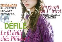 Livres explication  tricots et crochet