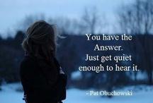 Quiet, You....