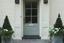 Front Doors / attention-getting front doors set the tone for an amazing home