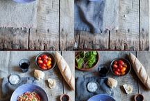 Food product photography