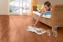 Laminate Flooring / Create a warm comfy feel to your home. Laminated flooring is warm in winter and cool in summer and is perfect for studies, bedrooms and studies.