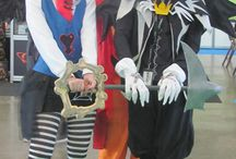 Riku (Halloween Town) - Kingdom Hearts II / Original design by me.  #riku #sora #kairi #kingdomhearts #cosplay #rydia #halloweentown