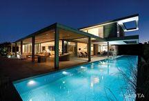Archi. Casa & Gradina. / Architecture. Home. Pool. Garden.