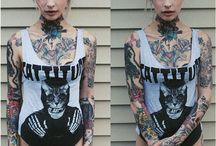 tattooed babes
