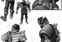 Judge Dredd stuff