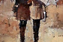 mann og dame i brunt