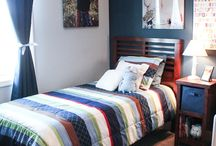 Tyler's bedroom inspiration / by Tiffany Parry