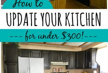 kitchen remodeling/decoration on a budget