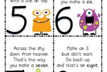 Maths games and rhymes