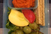 Lunch box to work ideas / Pomysły na drugie śniadania, przekąski lub lunch do pracy