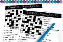 Math / Teaching ideas for math classrooms, interventions groups and centers to get students to build numeracy skills!