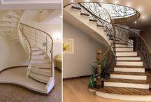 Бетонные лестницы / Бетонные лестницы для Вашего дома http://moydom.ua/blog/78-jelezobetonnie-lestnici.html