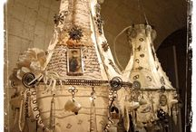 Chandeliers ..shimmery and lovely