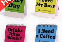 Best Office Gifts / How To Reduce Stress and Generate Plenty Giggles and Fun in the Office With These 29 Different Moods & Messages Flip Cards... Even The Boss Will LOL!