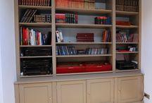 Bespoke library / http://www.lamaison.ro/en/custom-made-furniture