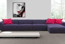 Divani / Un buon divano è spesso ciò che c'è di più efficace per imbastire una conversazione. Cit.