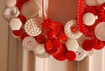 Wreaths and buttons / Wreath crafts