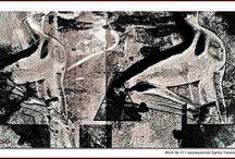 Work № 411 expressionist Sarkis Yerevanci