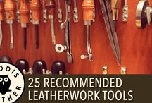Leather tools and techniques
