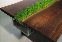 Green furniture, Modern furniture