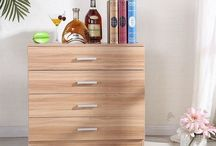 Oak Storage Unit Bed Room Furniture Chest of Drawers Drawers Sideboard Cupboard