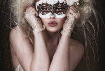 Masks  and body paint/art