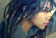 colorful dreads  / by kia darling