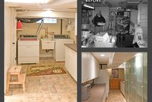 Lower Level and Basements / Basement Areas Remodeling and Construction