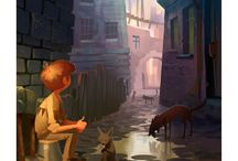 I want to know the story here! / Fabulous art that gives a glimpse of a great story