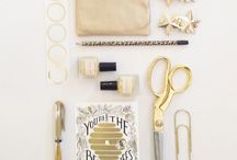 Marvelous Metallics / Everything that glitters is gold...and silver and brass. / by Anne Sage