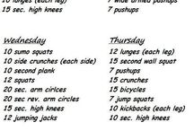 Home exercise routines