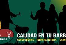 TIENDA. / Camino de Patria, La Muela, Vejer. Tel. 956 448 445 www.carnicaselalcazar.com