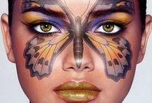 máscaras y maquillaje