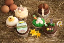 Easter 2015 / We took a pinch of spring dew, a sprinkling of vintage nostalgia and a whole lot of joy to make our Easter cake range. It's blooming brilliant! From sea salted caramel to Bakewells, reinvented snowballs to Creme Eggs, our cupcakes are guaranteed to put a spring in your step! Just the ticket to keep the whole family leaping through the school holidays.