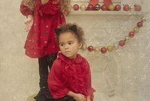 Escaparates navideños moda infantil