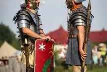 Rapax at Dymarki Festival / Photos of Legio XXI reenactors during yearly ancient festival - Dymarki Świętokrzyskie in Nowa Słupia