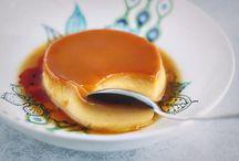 Flan, creme caramel, pudding