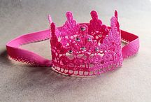 Girls crowns and rings