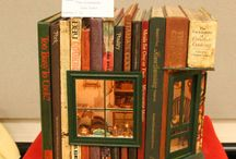 miniature rooms - books