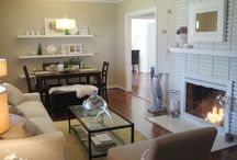 Living Room/Dinning Room Combos / by Stacey Kutz