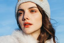 Lux Beanies by Jennifer Behr / Luxury handmade knit hats by Jennifer Behr.