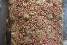 Indian fabrics and embroidery