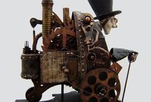 The Clock Works / Steampunk and Various Permutations. / by Amanda Hertel
