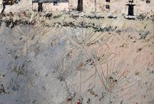 John Piper paintings / paintings by John Piper, contemporary artist from Cornwall
