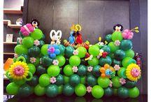 garden ballon